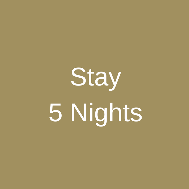 Stay 5 Nights Special
